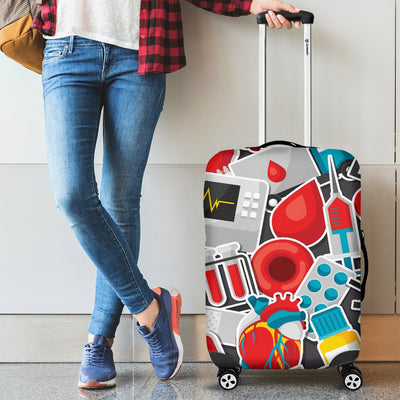 Phlebotomist Medical Themed Luggage Cover Protector
