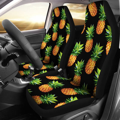 Pineapple Cute Print Design Pattern Universal Fit Car Seat Covers