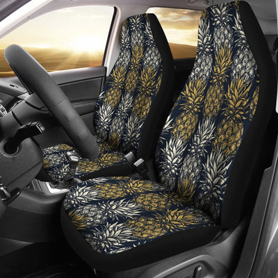Pineapple Print Design Pattern Universal Fit Car Seat Covers