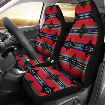 Plateau Ride Design No1 Print Universal Fit Car Seat Covers