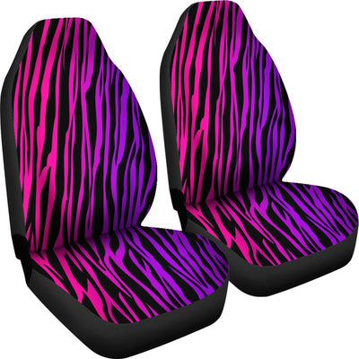 Rainbow Zebra Design No1 Print Universal Fit Car Seat Covers