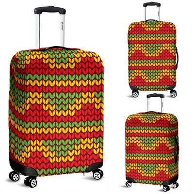 Rasta Reggae Color Print Luggage Cover Protector