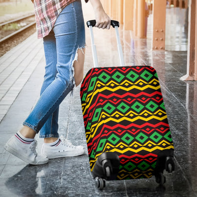 Rasta Reggae Color Themed Luggage Cover Protector