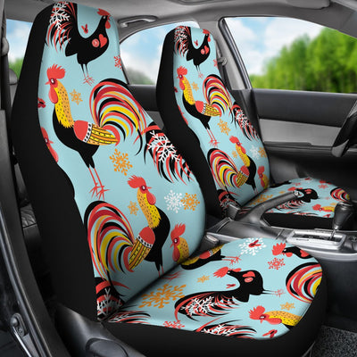 Rooster Themed Design Universal Fit Car Seat Covers