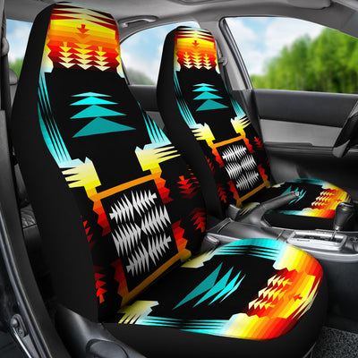 Sage Fire Design No1 Print Universal Fit Car Seat Covers