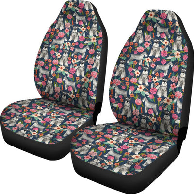 Schnauzer Design No1 Print Universal Fit Car Seat Covers