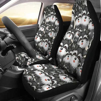 Schnauzer Design No3 Print Universal Fit Car Seat Covers