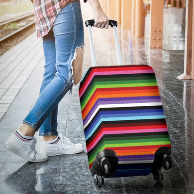 Serape Design Luggage Cover Protector
