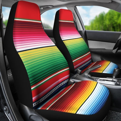 Serape Pattern Universal Fit Car Seat Covers
