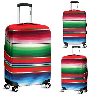 Serape Print Luggage Cover Protector