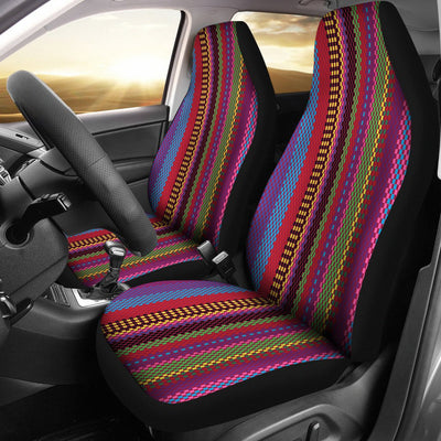 Serape Stripe Print Universal Fit Car Seat Covers
