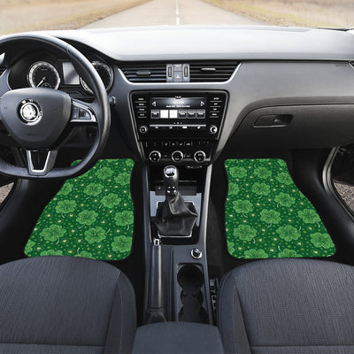 Shamrock Design Print Car Floor Mats