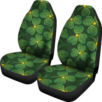 Shamrock Pattern Universal Fit Car Seat Covers