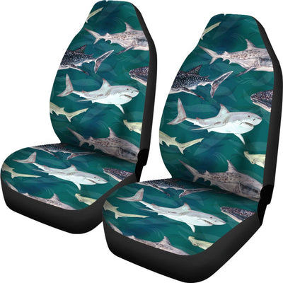 Shark Style Print Universal Fit Car Seat Covers