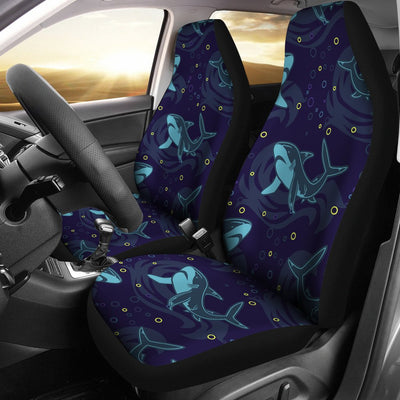 Shark Themed Print Universal Fit Car Seat Covers