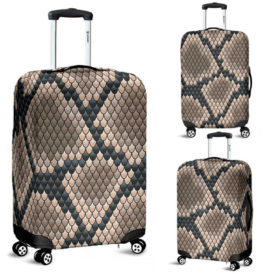 Snake Skin Design Print Luggage Cover Protector
