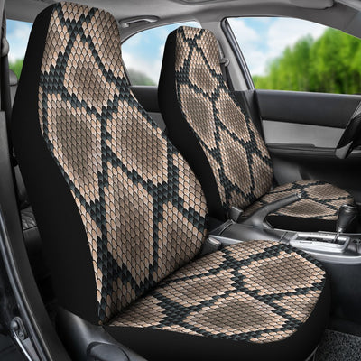 Snake Skin Design Print Universal Fit Car Seat Covers