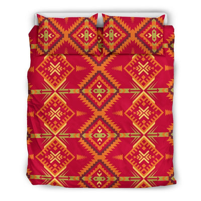 Southwest Aztec Design Themed Print Duvet Cover Bedding Set