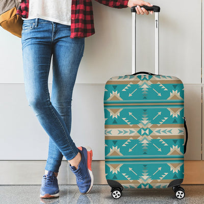 Southwest Native Design Themed Print Luggage Cover Protector