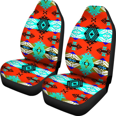 Sovereign Nation Blue Design No1 Print Universal Fit Car Seat Covers