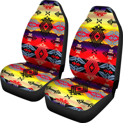 Sovereign Nation Mountain Design No1 Print Universal Fit Car Seat Covers