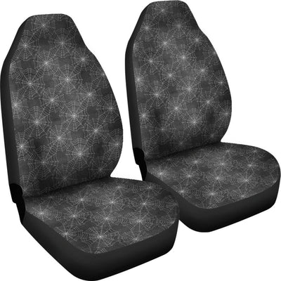 Spider Web Print Universal Fit Car Seat Covers