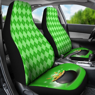 St Patricks Day Lucky Universal Fit Car Seat Covers