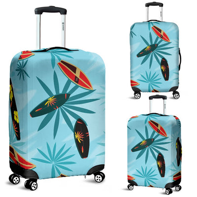 Surfboard Themed Pattern Luggage Cover Protector