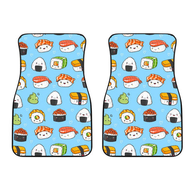 Sushi Cartoon Design Car Floor Mats