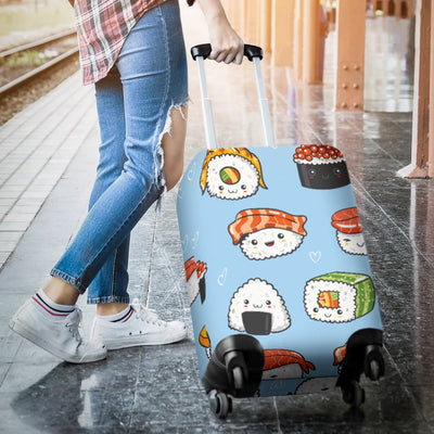 Sushi Cartoon Design Luggage Cover Protector