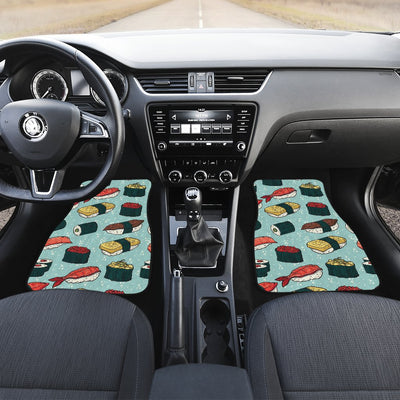 Sushi Pattern Design Car Floor Mats