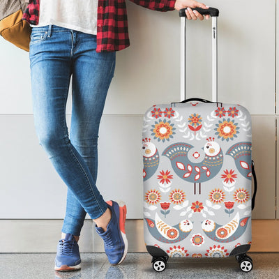 Swedish Nordic Design Print Luggage Cover Protector