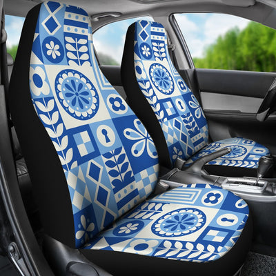 Swedish Print Pattern Universal Fit Car Seat Covers