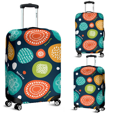 Swedish Themed Design Luggage Cover Protector