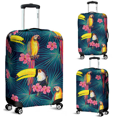 Toucan Parrot Design Luggage Cover Protector