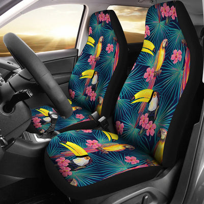 Toucan Parrot Design Universal Fit Car Seat Covers