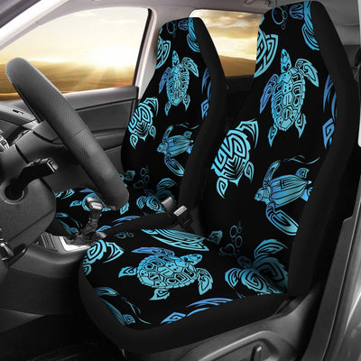 Tribal Turtle Polynesian Themed Design Universal Fit Car Seat Covers