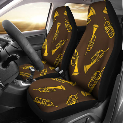 Trumpet Pattern Design Print Universal Fit Car Seat Covers