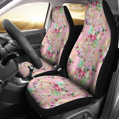 Unicorn Princess with Rose Universal Fit Car Seat Covers