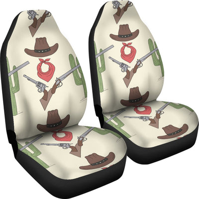 Western Cowboy Print Universal Fit Car Seat Covers
