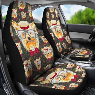 Yorkshire Terrier Design No2 Print Universal Fit Car Seat Covers