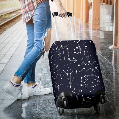 Zodiac Pattern Design Print Luggage Cover Protector