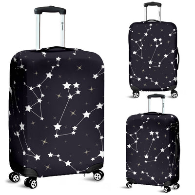 Zodiac Star Pattern Design Print Luggage Cover Protector