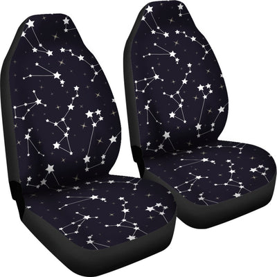 Zodiac Star Pattern Design Print Universal Fit Car Seat Covers