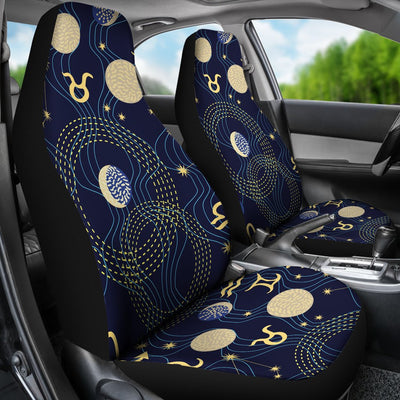 ZodiacThemed Design Print Universal Fit Car Seat Covers