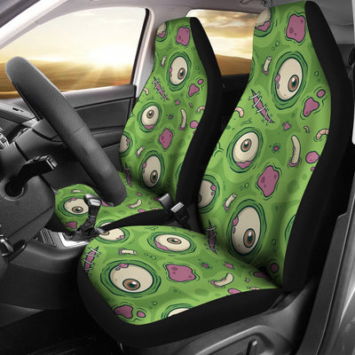 Zombie Eyes Design Pattern Print Universal Fit Car Seat Covers