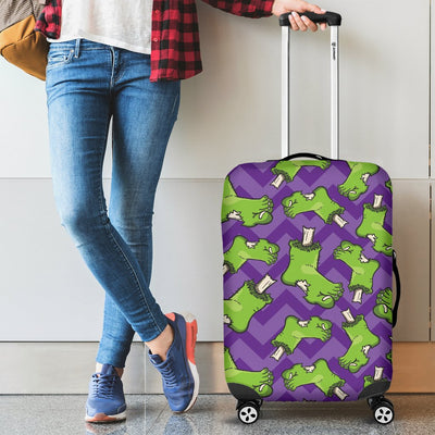Zombie Foot Design Pattern Print Luggage Cover Protector