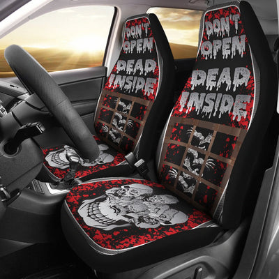 Zombie Themed Print Universal Fit Car Seat Covers