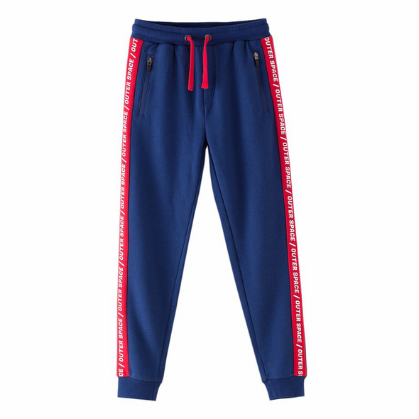 Milo Blue Jogger Bottoms