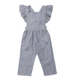 Erin Navy Striped Jumpsuit